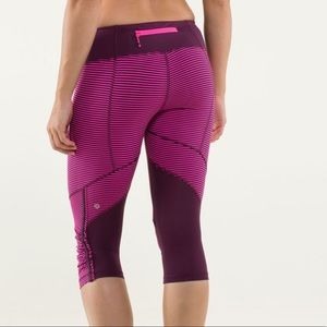 Lululemon Run for Your Life crops